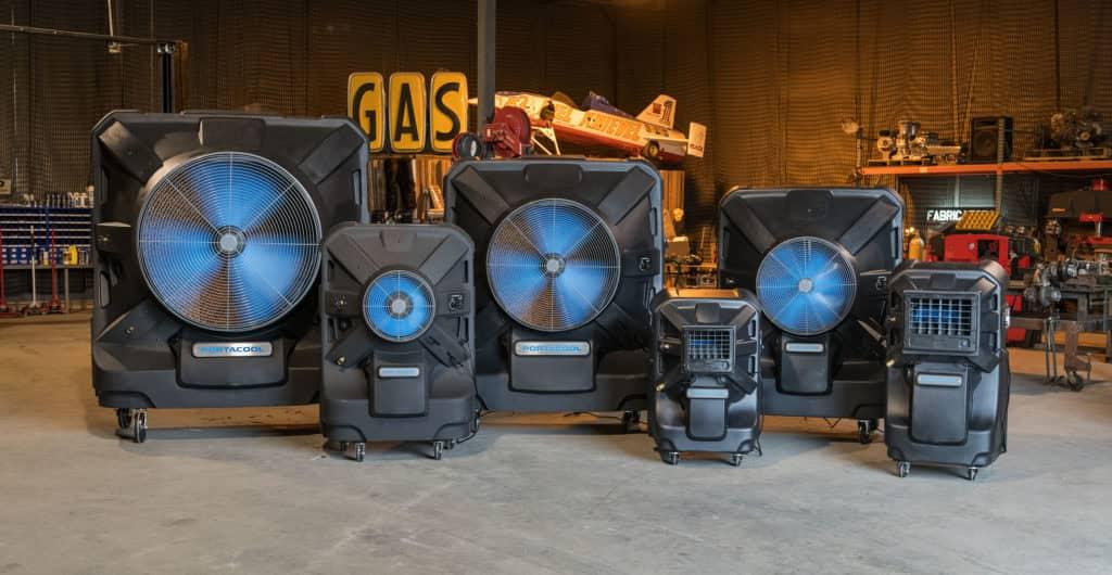 Portacool Portable Evaporative Cooling Fans