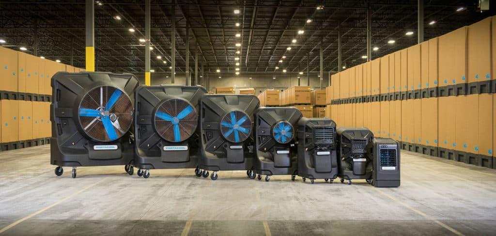 Industrial Swamp Cooler / Portable Evaporative Cooler from Portacool