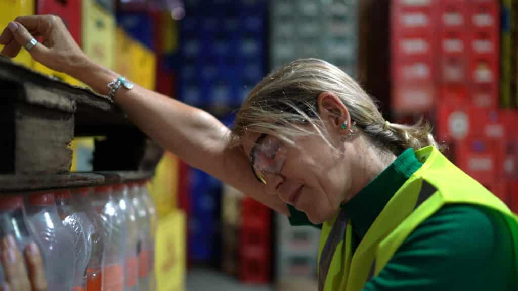 Hot Industrial Worker
